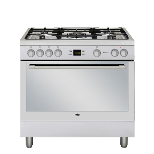 GM15326DXPR BEKO 90CM FREESTANDING COOKER